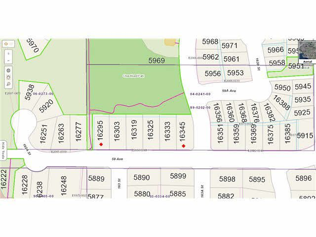 Main Photo: 16345 59TH Avenue in Surrey: Cloverdale BC Land for sale (Cloverdale)  : MLS®# F1426206