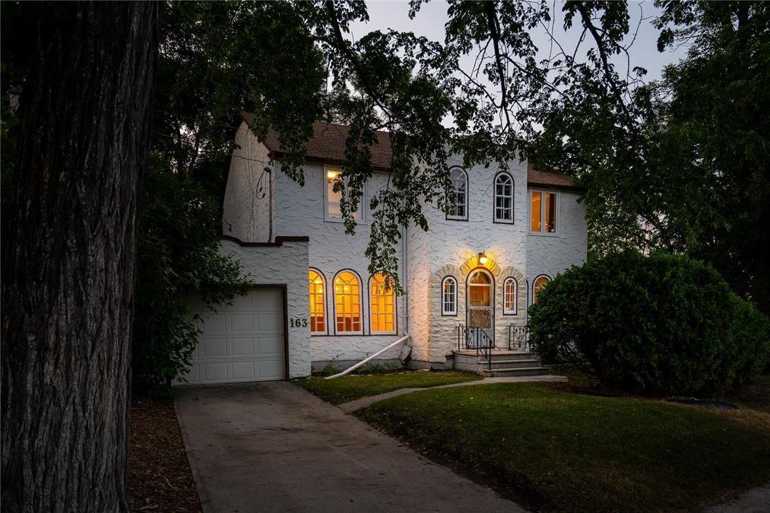 Main Photo: 163 Kingston Row in Winnipeg: House for sale : MLS®# 202118862