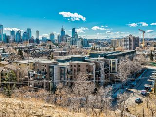 Main Photo: 216 823 5 Avenue NW in Calgary: Sunnyside Apartment for sale : MLS®# A1078604