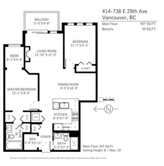 """Photo 20: 414 738 E 29TH Avenue in Vancouver: Fraser VE Condo for sale in """"CENTURY"""" (Vancouver East)  : MLS®# R2218486"""