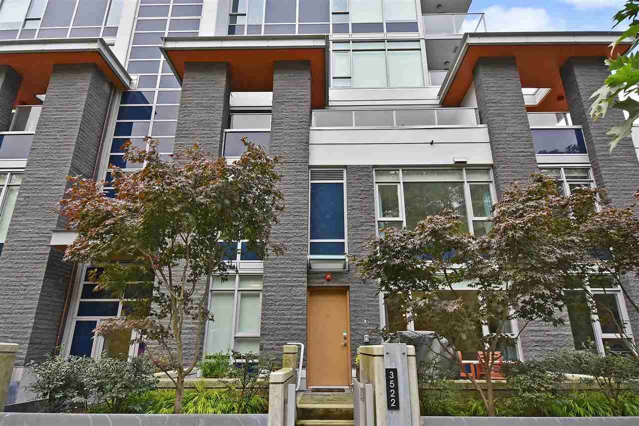 Main Photo: 3522 MARINE WAY in Vancouver: South Marine Townhouse for sale (Vancouver East)  : MLS®# R2411366