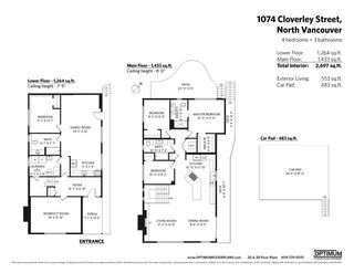 Photo 32: 1074 CLOVERLEY Street in North Vancouver: Calverhall House for sale : MLS®# R2547235