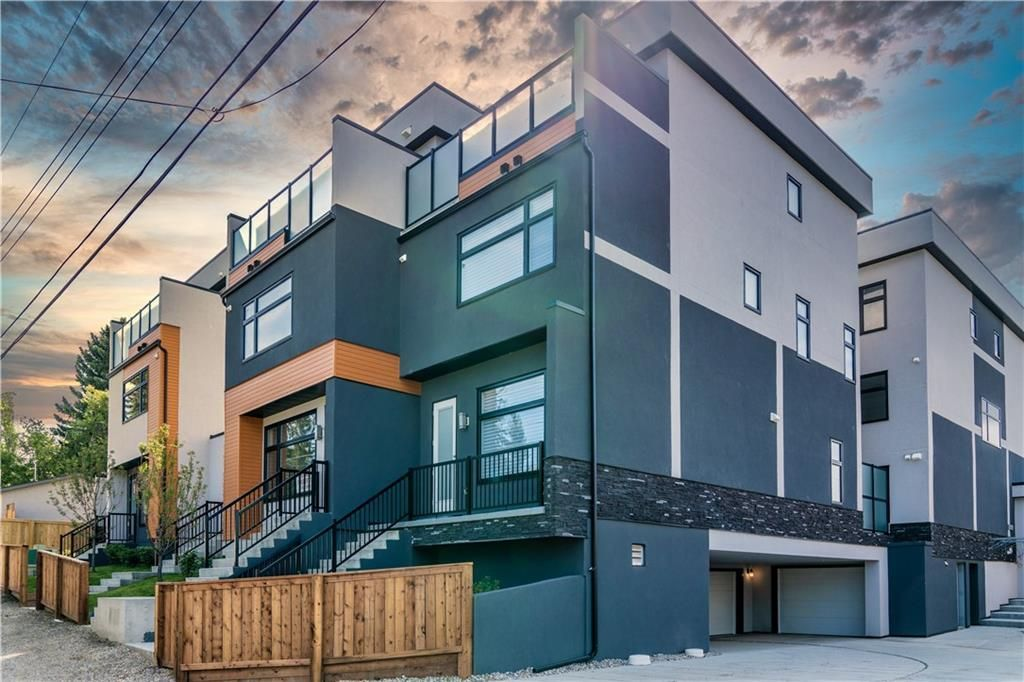 Main Photo: 106 1632 20 Avenue NW in Calgary: Capitol Hill Row/Townhouse for sale : MLS®# A1068088