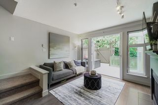 """Photo 1: 234 2565 W BROADWAY in Vancouver: Kitsilano Townhouse for sale in """"TRAFALGAR MEWS"""" (Vancouver West)  : MLS®# R2598629"""