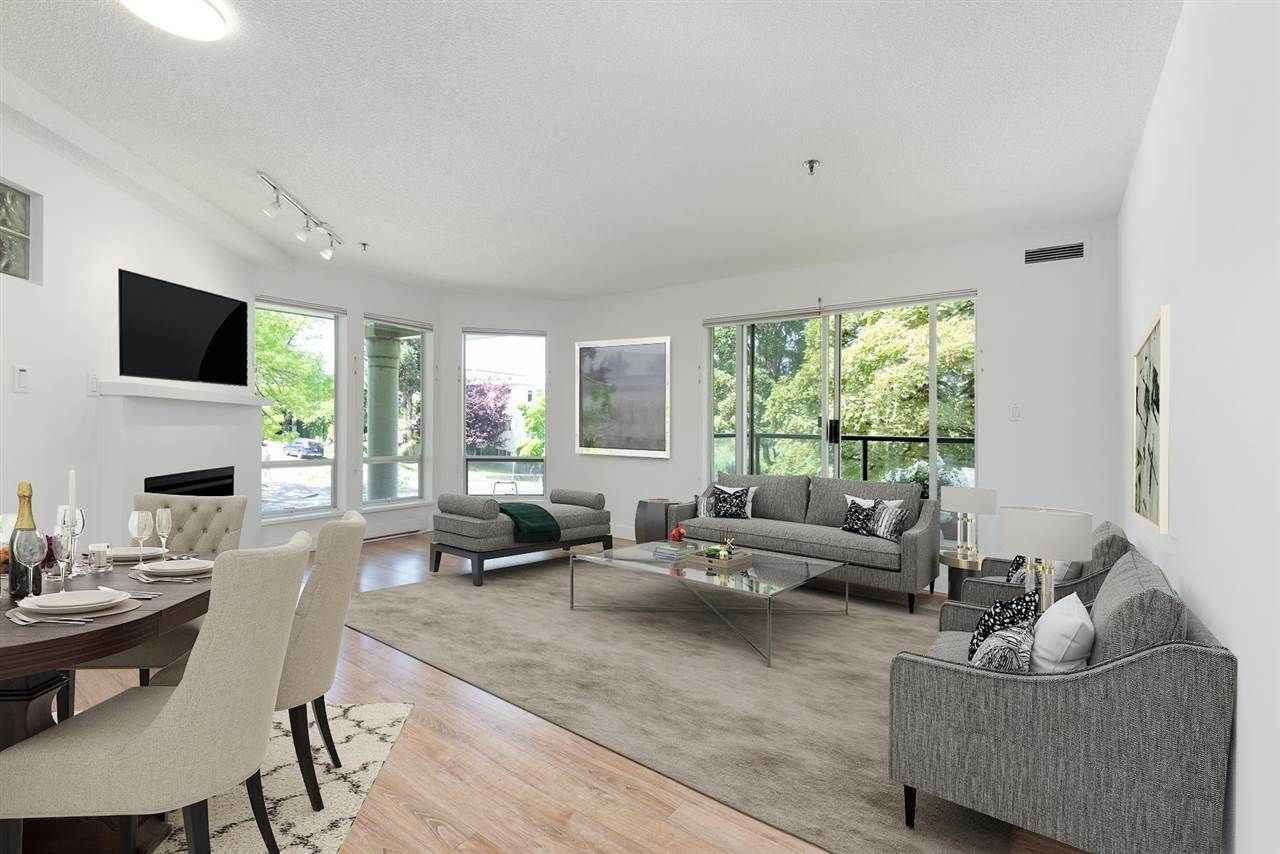 """Main Photo: 206 1988 MAPLE Street in Vancouver: Kitsilano Condo for sale in """"The Maples"""" (Vancouver West)  : MLS®# R2588071"""