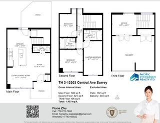 """Photo 27: TH3 13303 CENTRAL Avenue in Surrey: Whalley Condo for sale in """"THE WAVE"""" (North Surrey)  : MLS®# R2614892"""