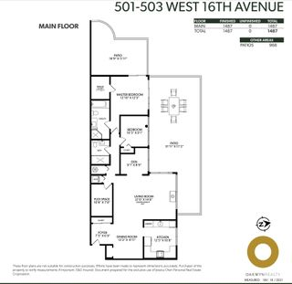 Photo 37: 501 503 W 16TH AVENUE in Vancouver: Fairview VW Condo for sale (Vancouver West)  : MLS®# R2611490