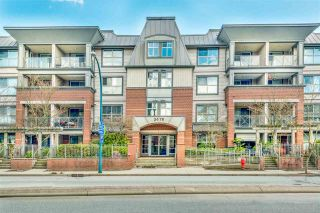 "Main Photo: 401 2478 SHAUGHNESSY Street in Port Coquitlam: Central Pt Coquitlam Condo for sale in ""Shaughnessy East"" : MLS®# R2564352"