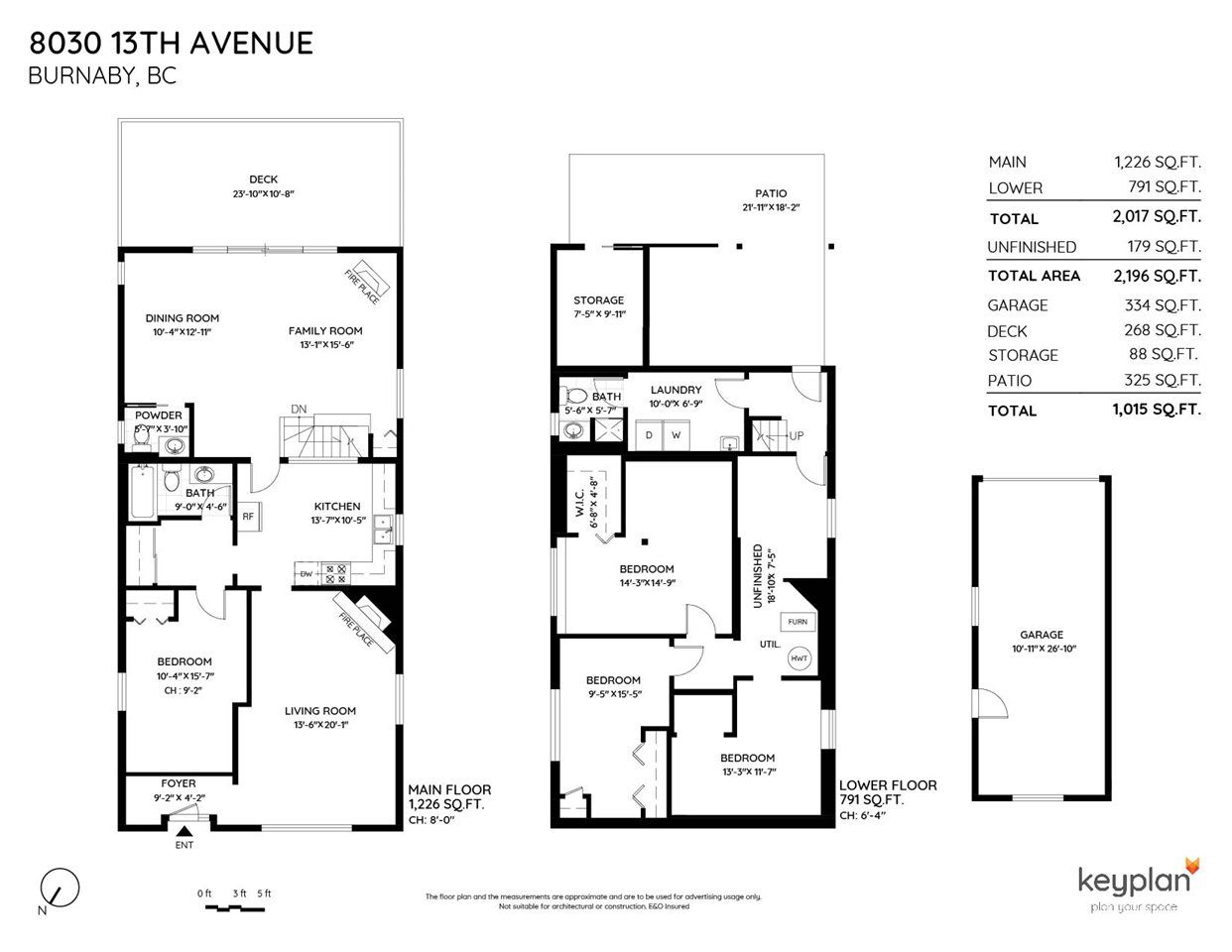 Photo 2: Photos: 8030 13TH Avenue in Burnaby: East Burnaby House for sale (Burnaby East)  : MLS®# R2494365