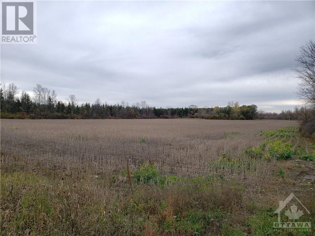 Main Photo: E 1/2 LT23 CON6 BANK STREET in Metcalfe: Vacant Land for sale : MLS®# 1215526