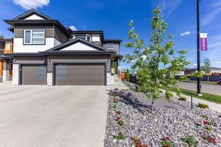 Photo 1: 813 BERG Loop: Leduc House Half Duplex for sale : MLS®# E4247152