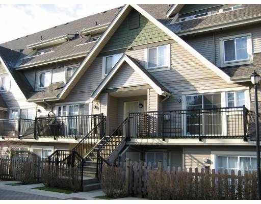 """Main Photo: 85 9339 ALBERTA Road in Richmond: McLennan North Townhouse for sale in """"TRELLAINE"""" : MLS®# V686058"""