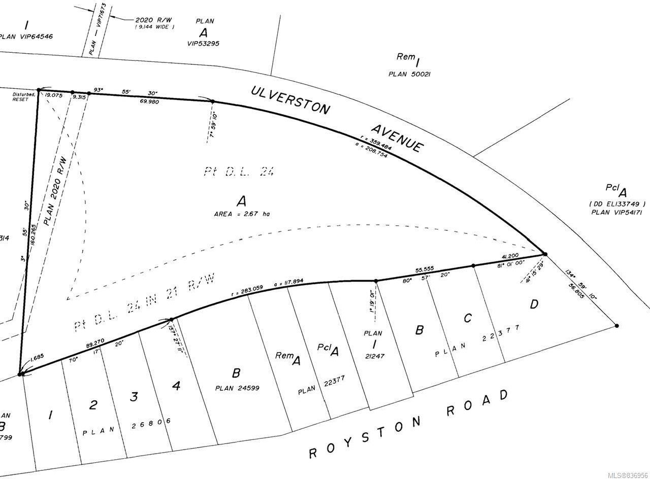 Photo 8: Photos: Lot A Ulverston Ave in CUMBERLAND: CV Cumberland Other for sale (Comox Valley)  : MLS®# 836956