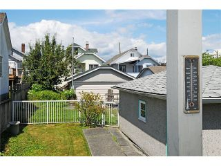 """Photo 15: 2381 E GEORGIA Street in Vancouver: Hastings House for sale in """"GRANDVIEW"""" (Vancouver East)  : MLS®# V1017795"""