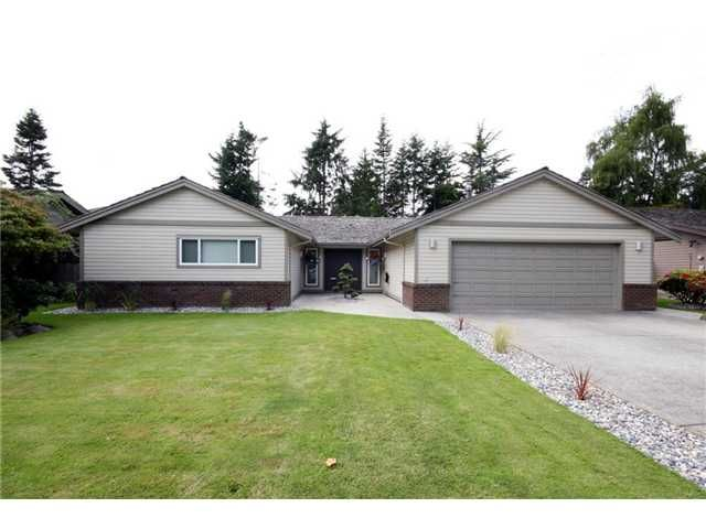"""Main Photo: 1275 49TH Street in Tsawwassen: Cliff Drive House for sale in """"Cliff Drive"""" : MLS®# V953484"""