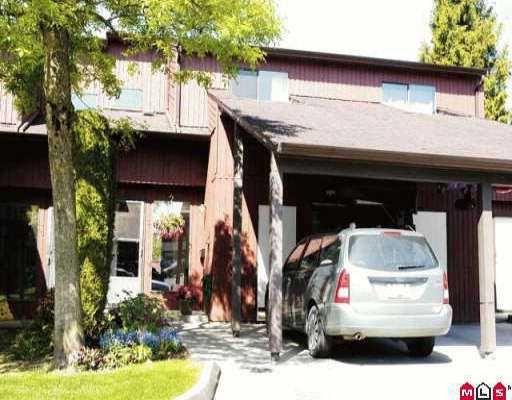 "Main Photo: 31 27044 32ND AV in Langley: Aldergrove Langley Townhouse for sale in ""BERTRAND ESTATES"" : MLS®# F2609319"