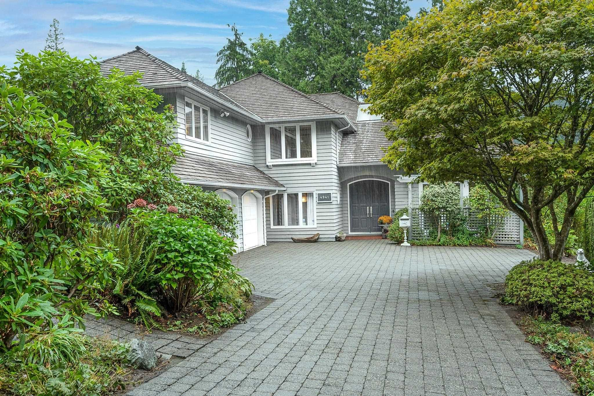 """Main Photo: 4941 WATER Lane in West Vancouver: Olde Caulfeild House for sale in """"Olde Caulfield"""" : MLS®# R2615012"""