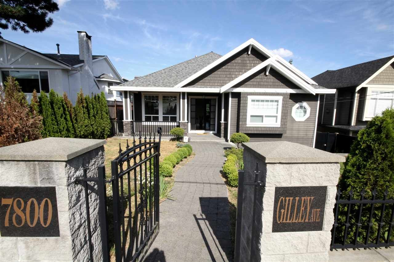 Main Photo: 7800 GILLEY Avenue in Burnaby: South Slope House for sale (Burnaby South)  : MLS®# R2088845