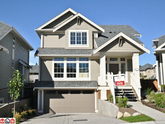 """Main Photo: 6092 163A Street in Surrey: Cloverdale BC House for sale in """"VISTA'S WEST"""" (Cloverdale)  : MLS®# F1028280"""
