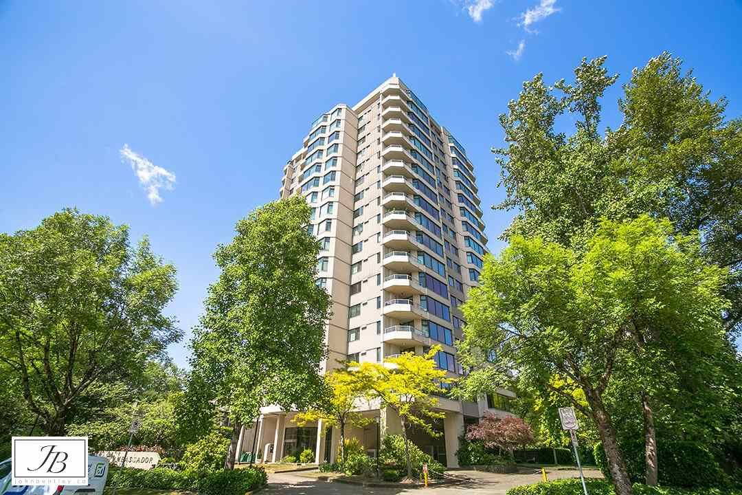 """Main Photo: 1101 7321 HALIFAX Street in Burnaby: Simon Fraser Univer. Condo for sale in """"THE AMBASSADOR"""" (Burnaby North)  : MLS®# R2498095"""