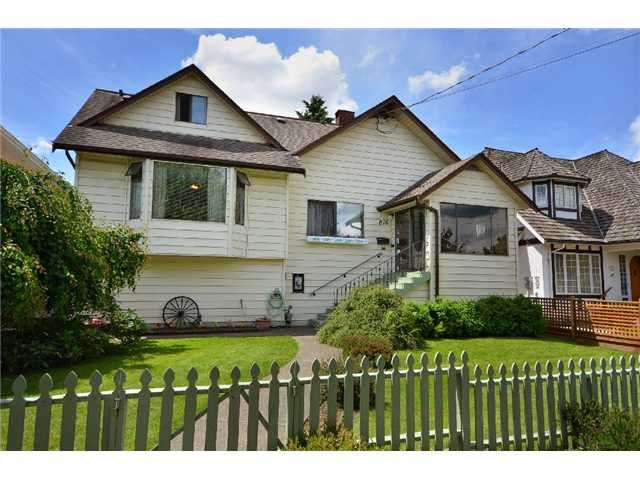 Main Photo: 816 4TH Street in New Westminster: GlenBrooke North House for sale : MLS®# V895794
