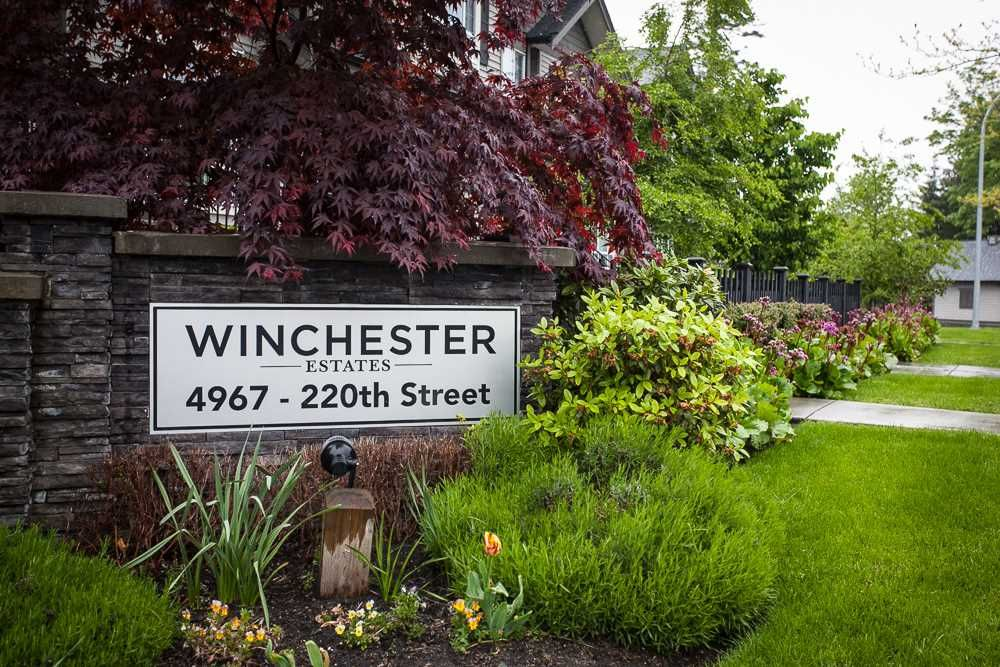 "Main Photo: 63 4967 220 Street in Langley: Murrayville Townhouse for sale in ""Winchester"" : MLS®# R2166876"