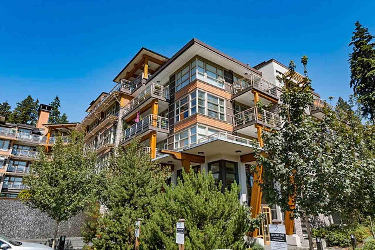 "Main Photo: 308 3606 ALDERCREST Drive in North Vancouver: Roche Point Condo for sale in ""DESTINY@ RAVENWOODS"" : MLS®# R2462528"