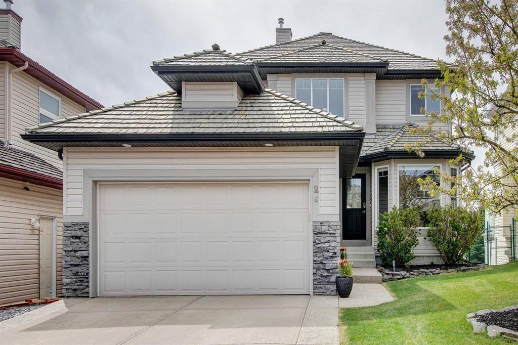 Main Photo: 26 Gleneagles Terrace: Cochrane Detached for sale : MLS®# A1130075