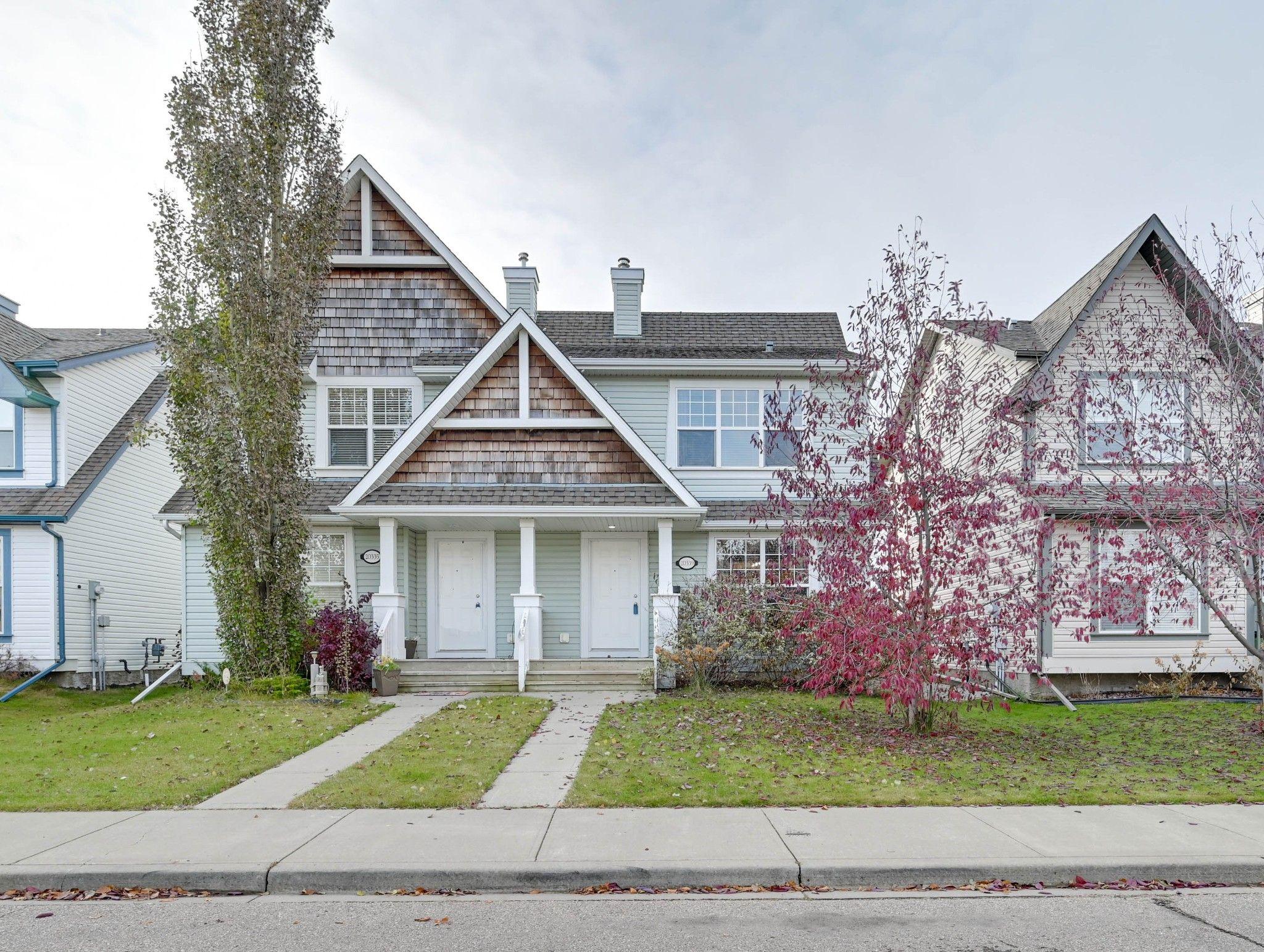 Main Photo: 20339 - 56 Avenue in Edmonton: Hamptons House Half Duplex for sale : MLS®# E4177430