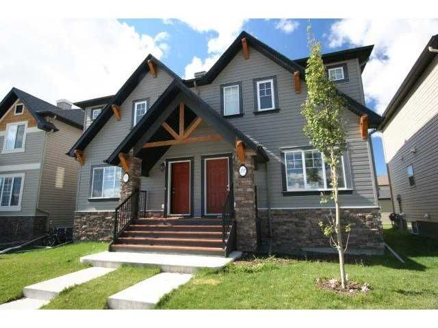 Main Photo: 301 SKYVIEW RANCH Drive NE in CALGARY: Skyview Ranch Residential Attached for sale (Calgary)  : MLS®# C3537280