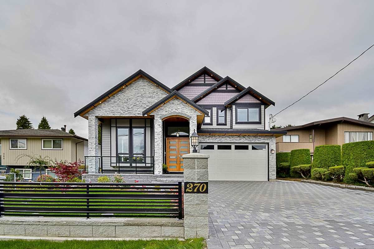 Main Photo: 270 MUNDY STREET in Coquitlam: Central Coquitlam House for sale : MLS®# R2106389