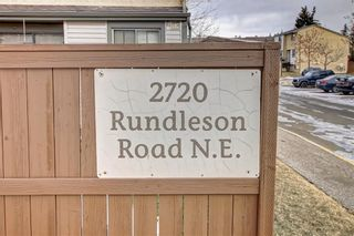 Photo 42: 104 2720 RUNDLESON Road NE in Calgary: Rundle Row/Townhouse for sale : MLS®# C4221687