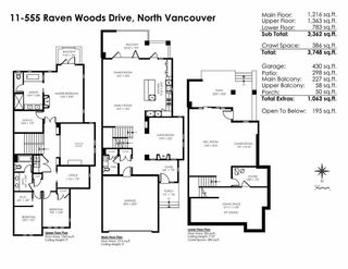 "Photo 20: 11 555 RAVEN WOODS Drive in North Vancouver: Roche Point Townhouse for sale in ""SIGNATURE ESTATES OF RAVENWOODS"" : MLS®# R2495900"