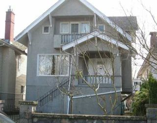 Main Photo: 66 W 19TH Ave in Vancouver: Cambie House for sale (Vancouver West)  : MLS®# V635606