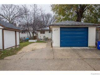 Photo 18: 965 Telfer Street in WINNIPEG: West End / Wolseley Residential for sale (West Winnipeg)  : MLS®# 1529015