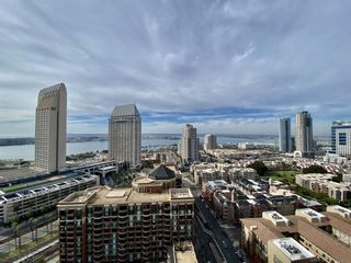 Photo 1: DOWNTOWN Condo for rent : 2 bedrooms : 550 Front St #2104 in San Diego