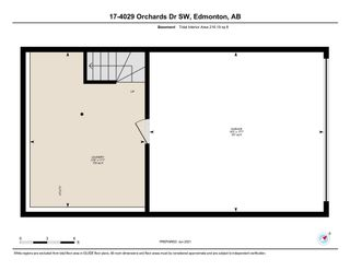 Photo 25: 17 4029 ORCHARDS Drive in Edmonton: Zone 53 Townhouse for sale : MLS®# E4251652