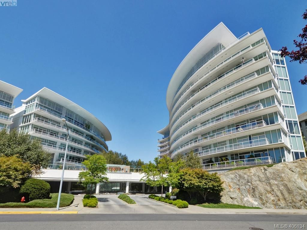 Main Photo: 520 68 Songhees Rd in VICTORIA: VW Songhees Condo for sale (Victoria West)  : MLS®# 807096