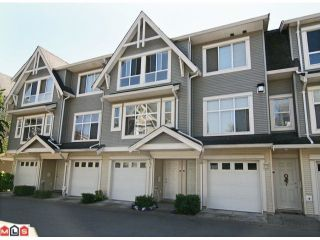 """Photo 1: 28 6450 199TH Street in Langley: Willoughby Heights Townhouse for sale in """"LOGANS LANDING"""" : MLS®# F1019917"""