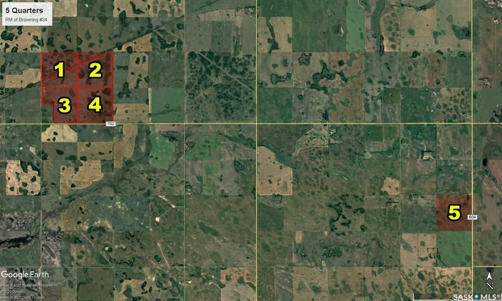 Main Photo: Kautz Land in Browning: Farm for sale (Browning Rm No. 34)  : MLS®# SK849571