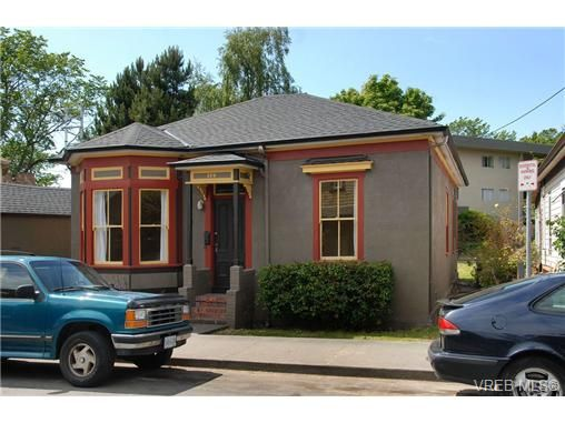 Main Photo: 120 St. Lawrence St in VICTORIA: Vi James Bay House for sale (Victoria)  : MLS®# 693945