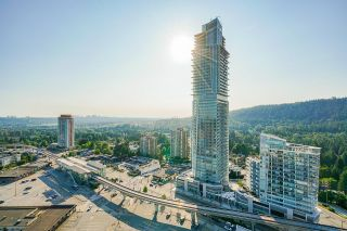 """Photo 1: 2702 570 EMERSON Street in Coquitlam: Coquitlam West Condo for sale in """"UPTOWN 2"""" : MLS®# R2600592"""