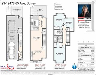 """Photo 38: 23 19478 65 Avenue in Surrey: Clayton Townhouse for sale in """"Sunset Grove"""" (Cloverdale)  : MLS®# R2571823"""