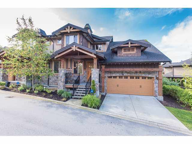 """Photo 2: Photos: 75 24185 106B Avenue in Maple Ridge: Albion Townhouse for sale in """"TRAILS EDGE"""" : MLS®# V1121758"""