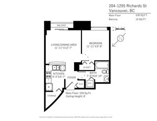 """Photo 20: 204 1295 RICHARDS Street in Vancouver: Downtown VW Condo for sale in """"THE OSCAR"""" (Vancouver West)  : MLS®# R2124812"""