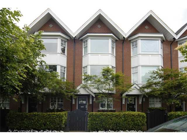 """Main Photo: 2150 W 8TH Avenue in Vancouver: Kitsilano Townhouse for sale in """"HANSDOWNE ROW"""" (Vancouver West)  : MLS®# V838320"""