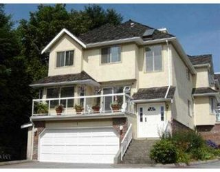 Photo 1: 1 72 JAMIESON CT in New Westminster: Fraserview NW Townhouse for sale : MLS®# V548664