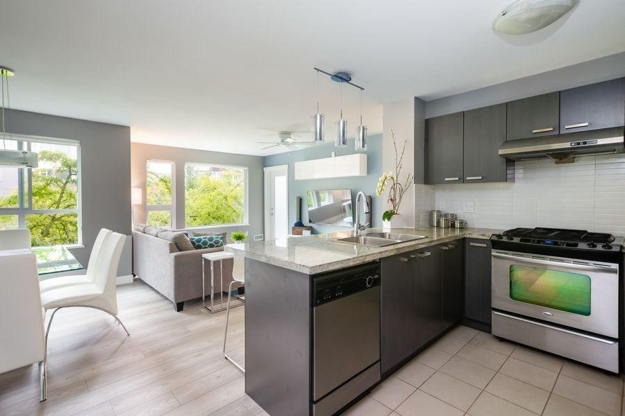 "Main Photo: 222 9500 ODLIN Road in Richmond: West Cambie Condo for sale in ""CAMBRIDGE PARK"" : MLS®# R2373803"