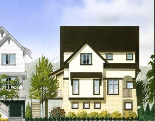 """Main Photo: 10 1211 EWEN Avenue in New_Westminster: Queensborough Townhouse for sale in """"ALEXANDER WALK"""" (New Westminster)  : MLS®# V679927"""