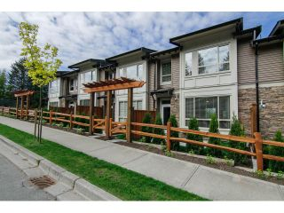 """Photo 1: 7 23986 104 Avenue in Maple Ridge: Albion Townhouse for sale in """"SPENCER BROOK"""" : MLS®# V1066703"""